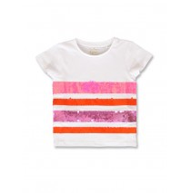142813 Creative manifesto small girls shirt pink lemonade+alaskan blue (12 pcs)
