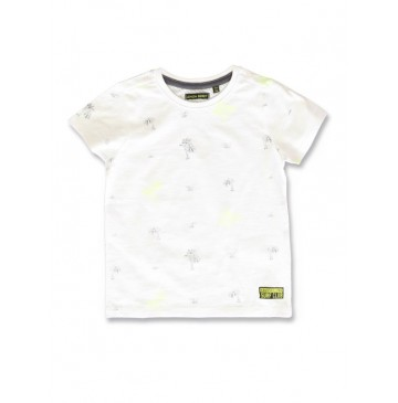 142903 Common ground small boys shirt safety yellow+hot peach (12 pcs)