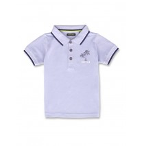 142904 Common ground small boys poloshirt light blue+medium blue (12 pcs)