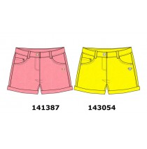 143054 In touch small girls  bermuda blazing yellow (10 pcs)