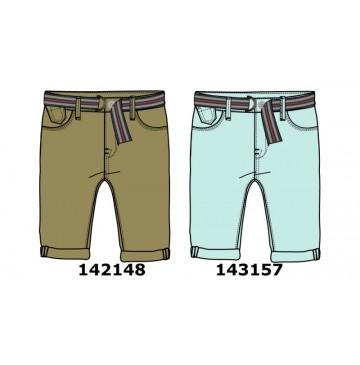 143157 Common ground teen boys bermuda + belt cool blue (10 pcs)