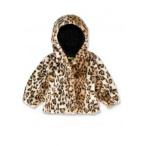143275 Esteem baby girls jacket leopart (8 pcs)