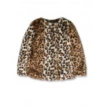 143281 Light magic small girls jacket leopart (10 pcs)