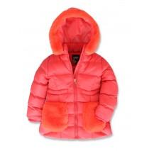143442 Light magic small girls jacket tomato puree (10 pcs)