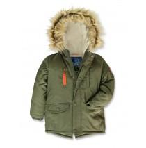 143445 Nature small boys jacket olive night (10 pcs)