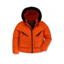 143491 Discover world teen boys jacket orange (10 pcs)