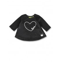 143571 Esteem baby girls shirt black+grey melange (8 pcs)