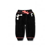 143586 Esteem baby girls jogging pant black+english rose (8 pcs)