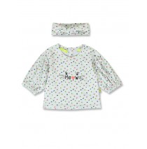 143591 Esteem baby girls shirt light grey+grey melange (8 pcs)