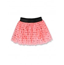143593 Esteem baby girls skirt neon coral+english rose (8 pcs)