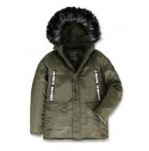 143595 Discover world teen boys jacket olive night (10 pcs)
