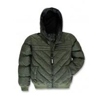 143610 Discover world teen boys jacket kaki (10 pcs)