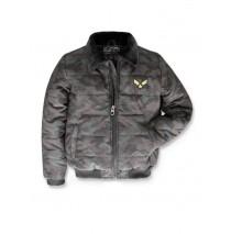 143611 Urban teen boys jacket kaki-black (10 pcs)