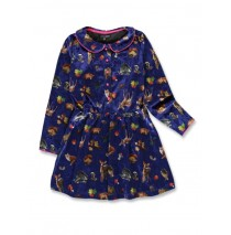 143692 Light magic small girls dress deep ultramarine+english rose (12 pcs)