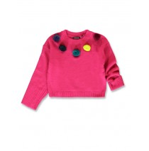 143740 Light magic small girls pullover raspberry sorbet+meadow mauve (12 pcs)