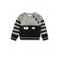 143782 Esteem baby boys pullover black+medieval blue (8 pcs)