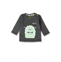 Esteem baby boys shirt dark grey+light grey melange (8 pcs)