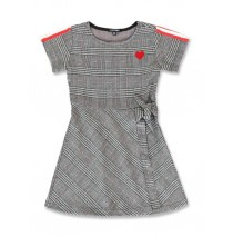 143810 Purpose full small girls dress black (10 pcs)