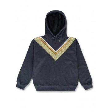 143862 Purpose full teen girls sweatshirt navy blazer+tomato puree (12 pcs)