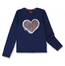 143920 Purpose full teen girls shirt medieval blue+english rose (12 pcs)