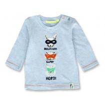143922 Esteem baby boys shirt light blue+light grey melange (8 pcs)