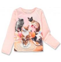 143945 Esteem small girls shirt english rose+bachelor button (12 pcs)