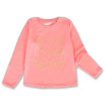 143946 Esteem small girls shirt neon coral+sulphur spring (12 pcs)