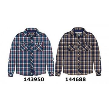 144688 Vintage teen boys blouse navy-sierra (10 pcs)