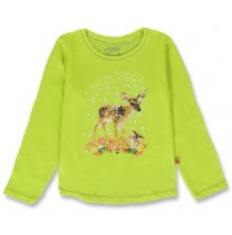 143957 Light magic small girls shirt sulphur spring+sky blue (12 pcs)
