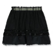 143959 Light magic small girls skirt black+raspberry sorbet (12 pcs)