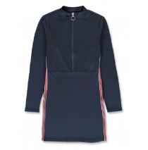 143971 Purpose full teen girls dress navy blazer+tomato puree (12 pcs)