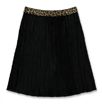 144035 Light magic teen girls skirt black+medieval blue (12 pcs)