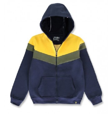 144050 Discover world teen boys cardigan navy blazer+four leaf clover (12 pcs)
