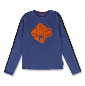144081 Purpose full teen girls shirt medieval blue+olive night (12 pcs)