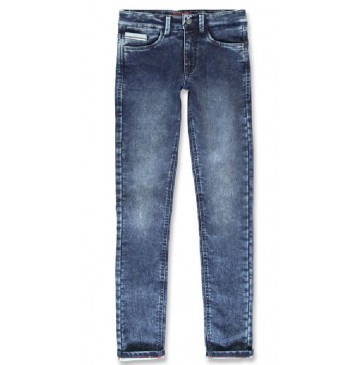 144086 Vintage teen boys Jog denim pant denim blue (10 pcs)