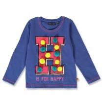 144098 Light magic small girls shirt deep ultramarine+english rose (12 pcs)