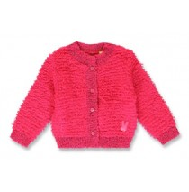 144105 Light magic baby girls cardigan+raspberry sorbet+sky blue (8 pcs)