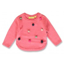 144130 Light magic baby girls pullover desert rose+sky blue (8 pcs)