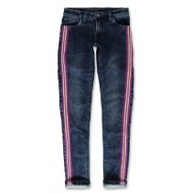 144138 Purpose full teen girls Jog denim pant denim blue (10 pcs)