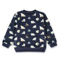 144149 Nature small boys sweatshirt navy blazer+forest night (12 pcs)
