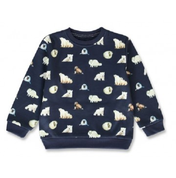 144149 Nature small boys sweatshirt navy blazer+forest night (12 pcs)
