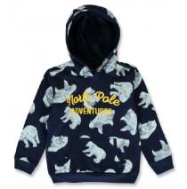 144200 Nature small boys sweatshirt navy blazer+chinese yellow (12 pcs)