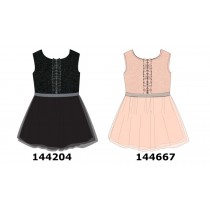 144667 Purpose full teen girls dress english rose (10 pcs)