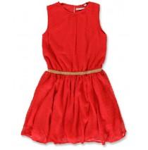 144217 Purpose full small girls dress ribbon red (10 pcs)