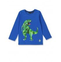 144331 Discovery world small boys shirt royal blue+black (12 pcs)