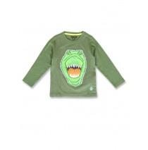 144335 Discovery world small boys shirt olive night+navy blazer (12 pcs)