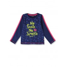 144397 Light magic small girls shirt medieval blue+tomato puree (12 pcs)