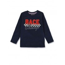 144463 Urban small boys shirt navy blazer+medieval blue (12 pcs)