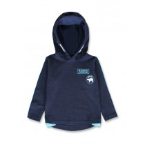 144475 Nature small boys sweatshirt dark blue+anthracite melange (12 pcs)