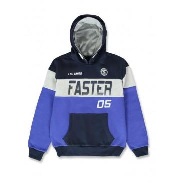 144479 Urban teen boys sweatshirt navy blazer+medieval blue (12 pcs)